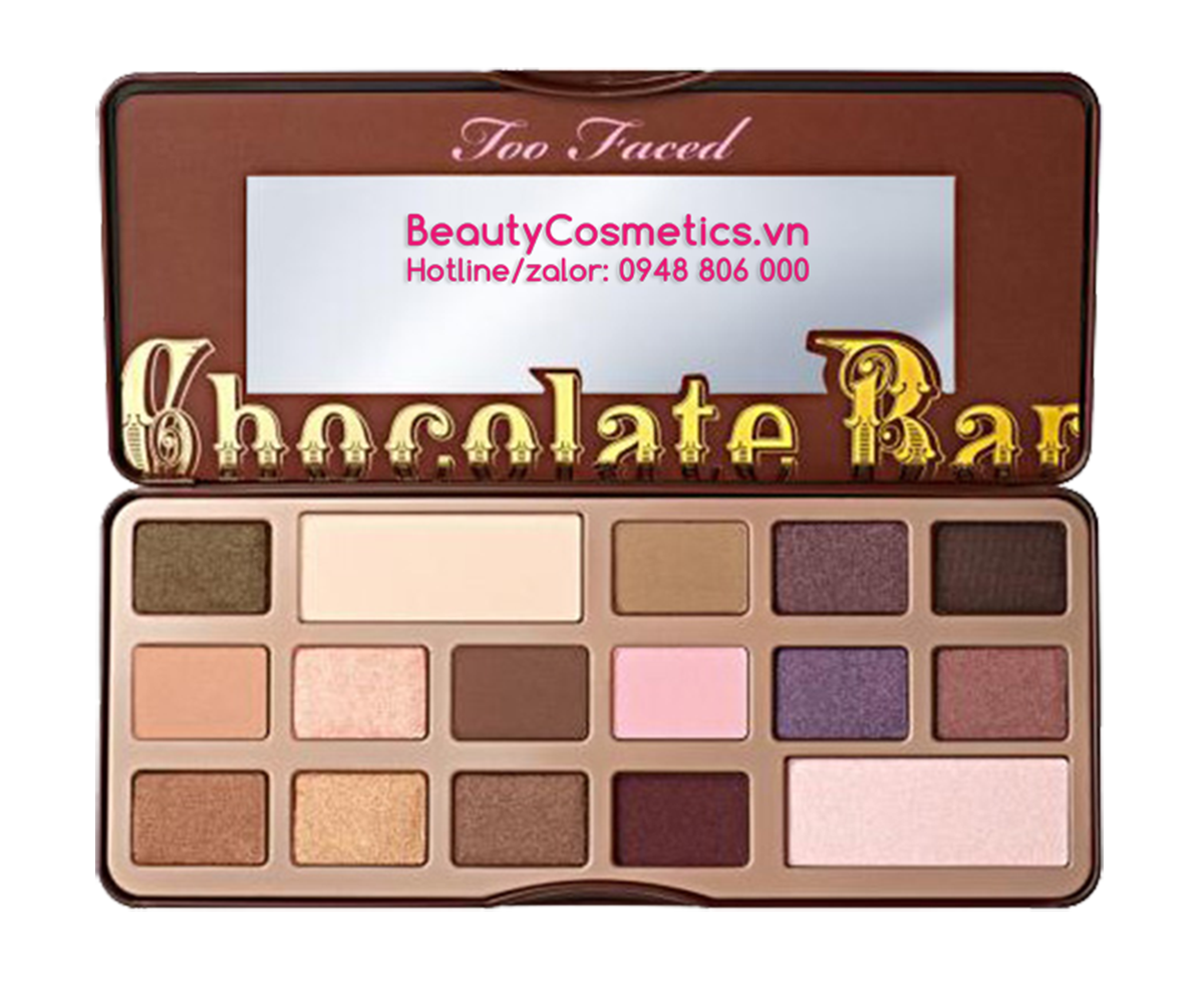 phấn mắt trang điểm Too Faced Chocolate Bar EyeShadow Palette