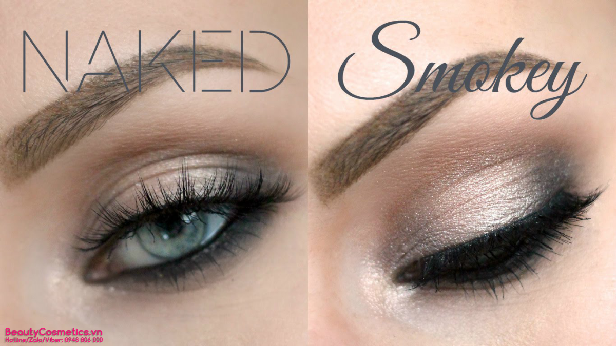 Phấn mắt Urban Decay Naked Smoky Paleete