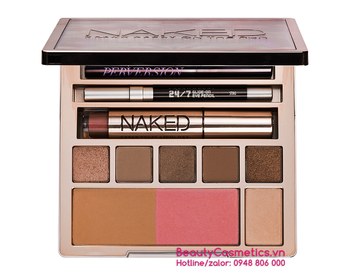hấn mắt trang điểm Urban Decay Naked On The Run Palette